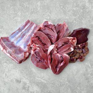 1kg Lamb Breast & Heart 1kg