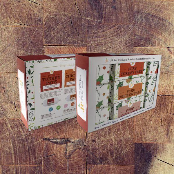 JR Pet Products Three Bird Roast Christmas Crackers