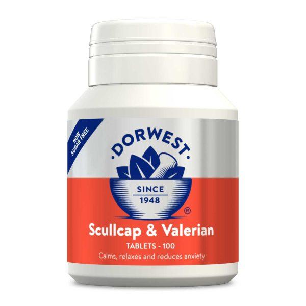 Dorwest Scullcap & Valerian Tablets (100 Tablets)