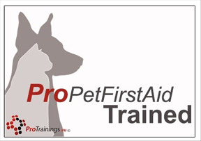 Pro Pet First Aid Trained